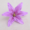 cheapest factory directly wholesale artificial flower accessory lily flower head
