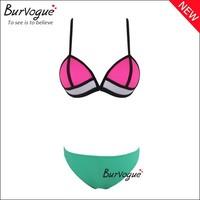 Latest design women sexy triangle bikini push up colorful women bikini swimwear beach wear sexy bathing suit adies wholesale