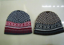 Wholesale winter comfort men warm hat knitting wool