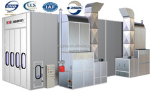 AERO PARTS Commercial Customize design industry spray booth for sale( ISO9001) For Truck Bus