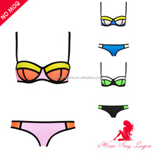 wholesale triangle woman neoprene bathing suit triangle