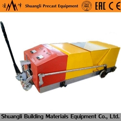 High performance fire proof wall panel extrusion machine