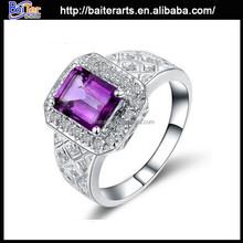 Best Seller 925 Sterling Silver Diamond Engagement Rings New York