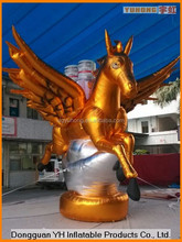 outdoor inflatable advertising pegasus cartoon for promotion