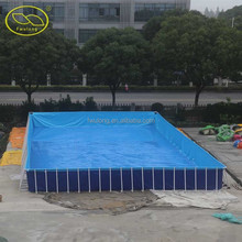 0.9mm pvc water sports inflatable swiming pool/inflatable water pool/inflatable pool toys