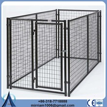 China manufacture or galvanized comfortable large dog cage for sale
