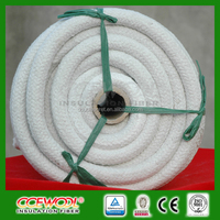 CCEWOOL refractory ceramic fiber round rope with glass fiber