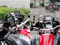 New Arrival Universal motorcycle Phone Holder 360 Rotating Mount GPS/PDA/PSP/MP4 & smart Phone
