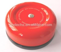 Hot selling red color round fire alarm bell