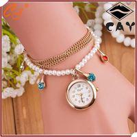 2015 wrist watch wholesale, transparent automatic watch