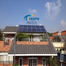 Complete set 10W to 50KW home solar pv mounting system for ground installation