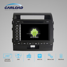 Touch Screen Android 2 din car gps for toyota land cruiser with GPS, iPOD, TV, RDS, Wifi, 3G, mirror functions