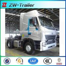 HOWOA7 336HP 6x4 semi tralier car EURO2 TRACTOR TRUCK