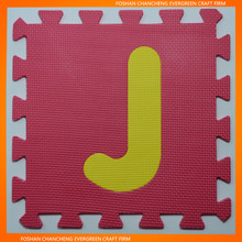 Colorful Alphabet Jigsaw Puzzle Mat