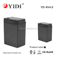 Sealed Rechargeable lead acid 6V4.5 battery for electronic scale