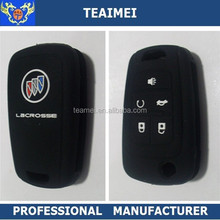 Smart Key FOB Cover 4 Buttons Silicone Car Remote Key Case