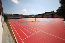 basketball court floor and tiles brand name