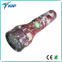 15 white and 1 red laser lights camouflage colors led flashlight