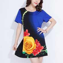2015 fashion design high quality spandex polyester t-shirt