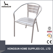 2014 Hot sale Outdoor relax dining cafe aluminium chair