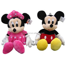 factory direct mickey minnie mouse,custom plush toys