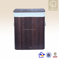 Collapsible rectangle folding laundry basket as seen on tv