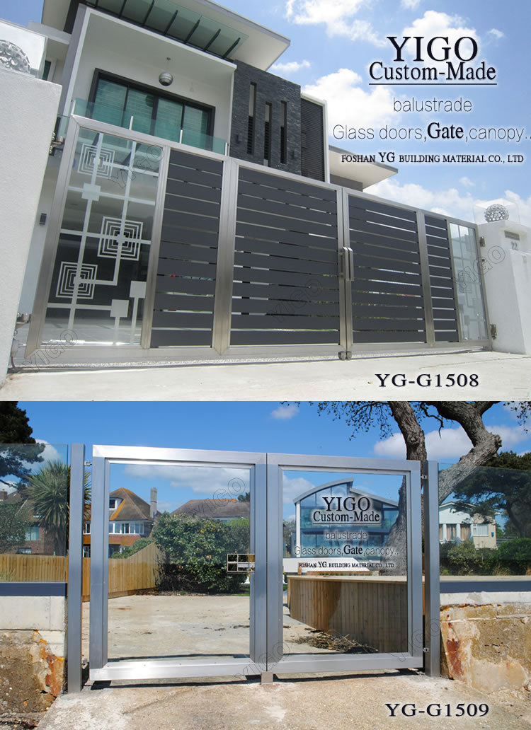 House Main Gate Designs Steel Gate Design Home View Gate Yigo Gate Product Details From