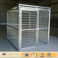 welded mesh style big metal dog house