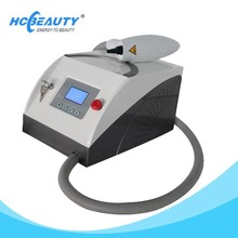 Portable yag laser tattoo removal and skin care device