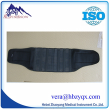 Super breathable Lumbar support with belt PP stick for protect waist and back