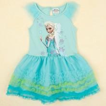 baratos congelado vestido de princesa para los niños