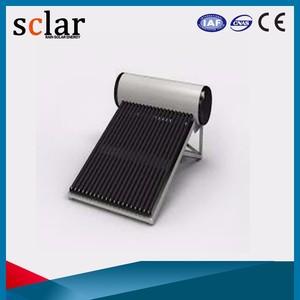Fabricante Direct-plug conexão mini evacuado do tubo aquecedor solar de água solar geyser