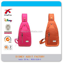 Leisure Style Cross Body Bag, Cross Laptop Bag, Sport Chest Bag for Girls