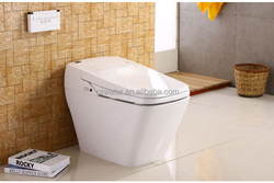 V201 Automatic integrated Smart toilet with Water tanks and multi-mode sprinklers