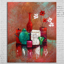 Unique Framed Handmade Abstract Oil Painting On Canvas