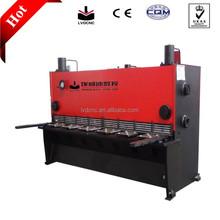 Qc11 lamiera idraulico macchina di taglio a ghigliottina, idraulico macchina di taglio a ghigliottina