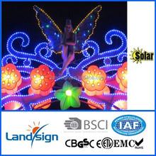 Super powered garden light string XLTD-116 holiday lighting series solar Christmas lights
