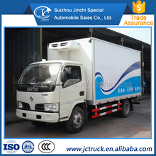 New product 4x2 refrigerated van manufacturer in China