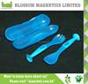 Exquisite Blue Lightweight Plastic Kids Dinnerware Set