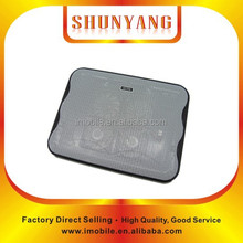"""Black color hottest 15.4"""" summer cooling fan cooler pad cooling laptop stand with many colors"""