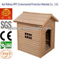 waterproof wood plastic composite wpc pet house.