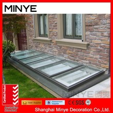 factories roof skylight with curtain wall aluminum profile/seanlant skylight