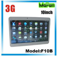 Fashion 10 inch android tablet / slim MaPan tablet pc 10 inch Inbuilt 3G 1gb/16gb dual sim card
