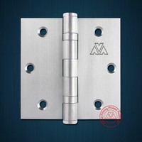 253535 Stainless steel butt hinge with 2BB for door