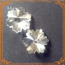 snowflake beads crystal,crystal curtain parts,nice crystal beads curtain