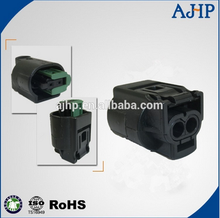 AMP 2 pin female male auto connector for cars of pbt-gf10