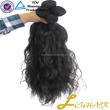Large Stock No Shedding No Tangle Indian Remy 350 Bulk Hair