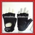 Medio dedo gimnasio levantamiento de pesas guantes de entrenamiento de