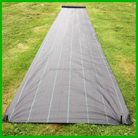 woven fabric black mulch for weed