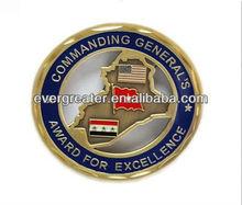 Placas de metal de alta calidad personalizados placa de metal